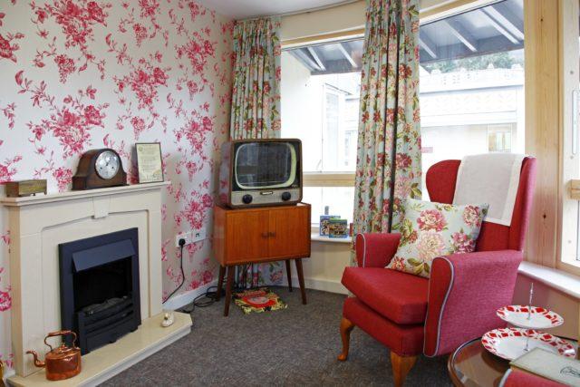 Dementia-friendly living room